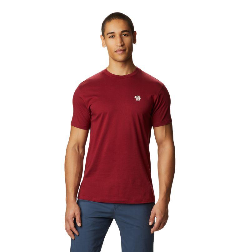 MHW Logo™ Short Sleeve T | 831 | S Men's MHW Logo™ Short Sleeve T-Shirt, Desert Red, front