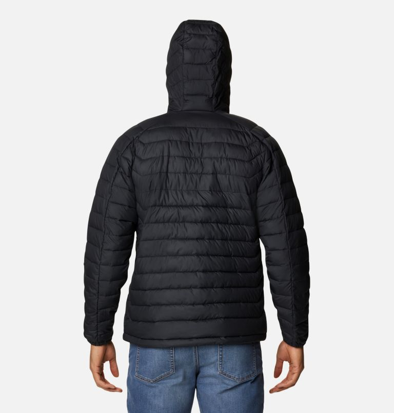 M White Out™ II Hooded Jacket | 010 | XXL Manteau à capuchon White Out™ II pour homme, Black, back