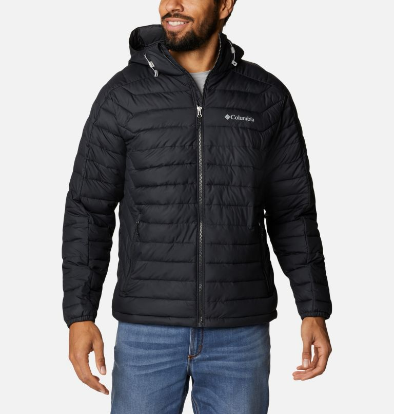 M White Out™ II Hooded Jacket | 010 | XXL Manteau à capuchon White Out™ II pour homme, Black, front