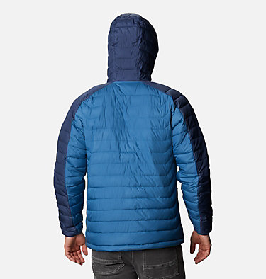 Manteau à capuchon White Out™ II pour homme M White Out™ II Hooded Jacket | 461 | L, Scout Blue, Dark Mountain, back