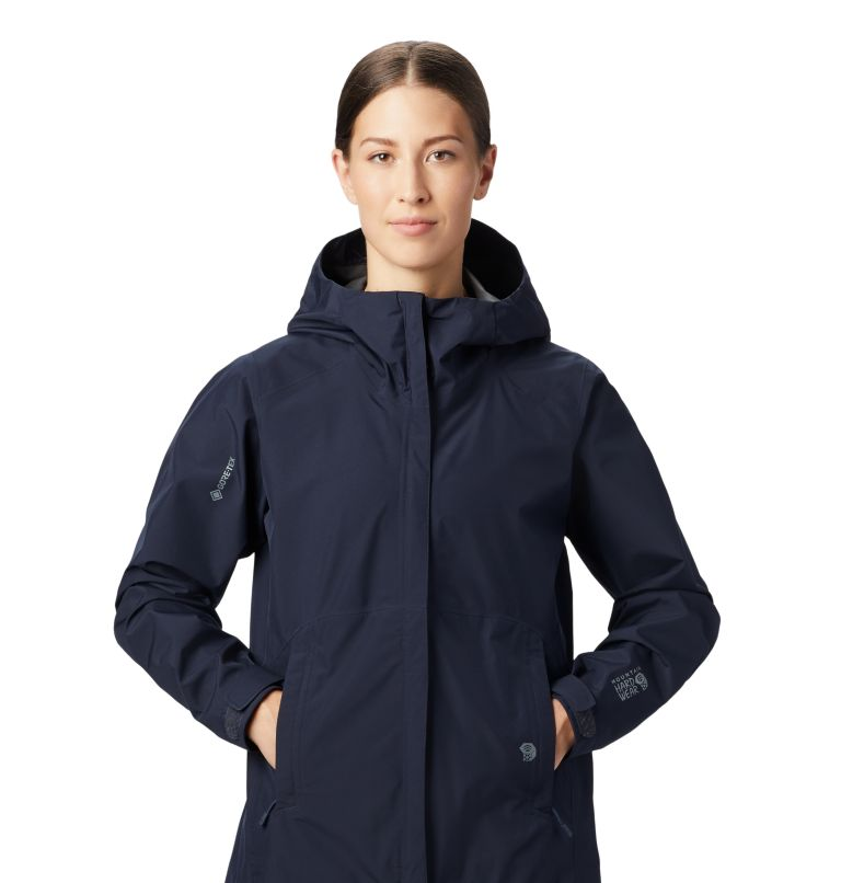 Exposure/2™ Gore-Tex® Paclite Jacket | 406 | L Women's Exposure/2™ Gore-Tex® Paclite® Jacket, Dark Zinc, a1