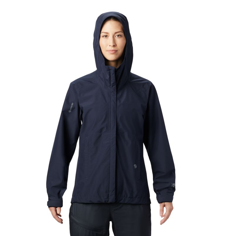 Exposure/2™ Gore-Tex® Paclite Jacket | 406 | L Women's Exposure/2™ Gore-Tex® Paclite® Jacket, Dark Zinc, front
