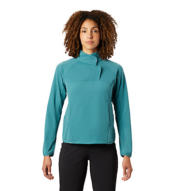 Women's Norse Peak™/2 Pullover Norse Peak/2™ Pullover | 514 | L, Washed Turq, front