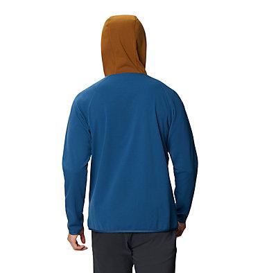 Chandail à capuchon avec fermeture éclair Norse Peak Homme Norse Peak Full Zip Hoody | 306 | L, Blue Horizon, back