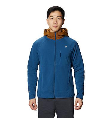 Chandail à capuchon avec fermeture éclair Norse Peak Homme Norse Peak Full Zip Hoody | 306 | L, Blue Horizon, front