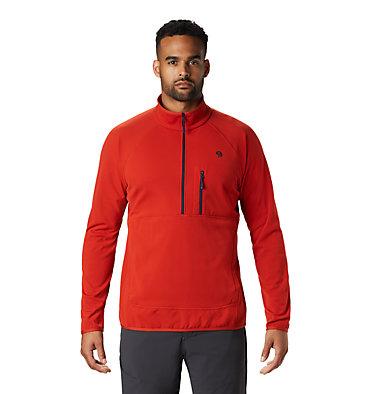 Men's Norse Peak Half Zip Pullover Norse Peak Half Zip Pullover   306   L, Desert Red, front