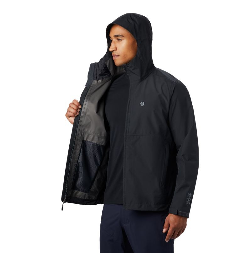 Exposure/2™ Gore-Tex® Paclite Jacket | 004 | L Men's Exposure/2™ Gore-Tex® Paclite® Jacket, Dark Storm, a4