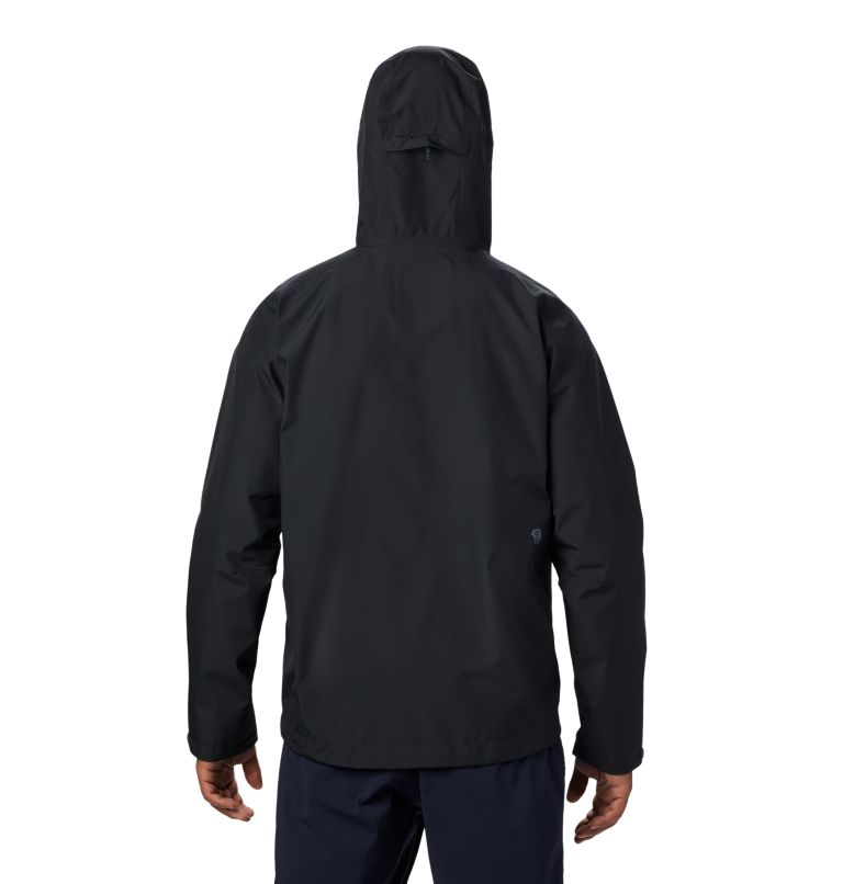 Exposure/2™ Gore-Tex® Paclite Jacket | 004 | L Men's Exposure/2™ Gore-Tex® Paclite® Jacket, Dark Storm, back