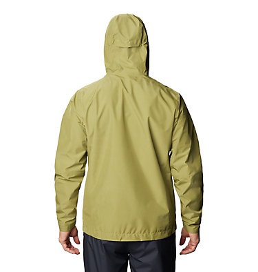 Men's Exposure/2™ Gore-Tex® Paclite® Jacket Exposure/2™ Gore-Tex Paclite® Jacket | 303 | L, Fatigue Green, back