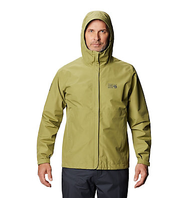 Men's Exposure/2™ Gore-Tex® Paclite® Jacket Exposure/2™ Gore-Tex Paclite® Jacket | 303 | L, Fatigue Green, front