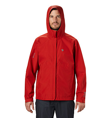 Men's Exposure/2™ Gore-Tex® Paclite® Jacket Exposure/2™ Gore-Tex Paclite® Jacket | 303 | L, Desert Red, front