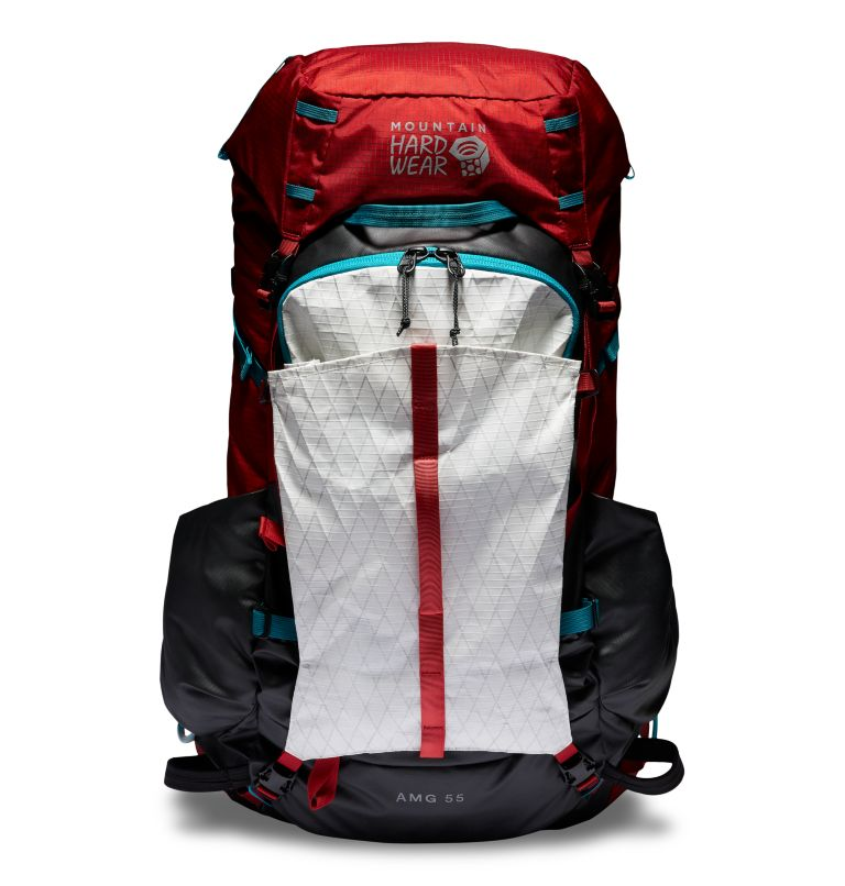 AMG™ 55 Backpack | 675 | S/M AMG™ 55 Backpack, Alpine Red, front