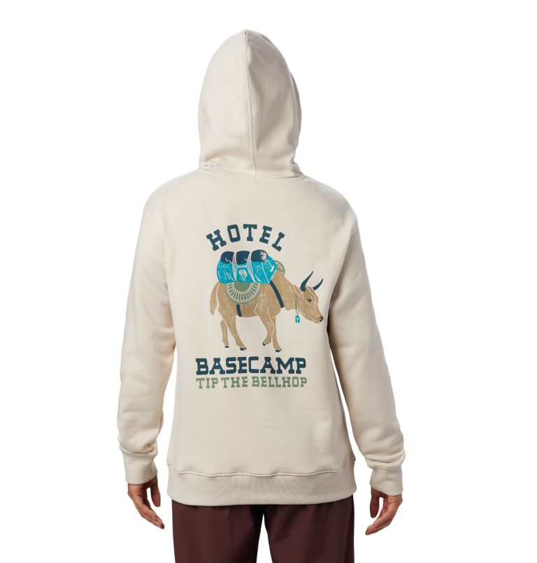 Hotel Basecamp™ Pullover Hoody | 164 | L Women's Hotel Basecamp™ Pullover Hoody, Lightlands, back