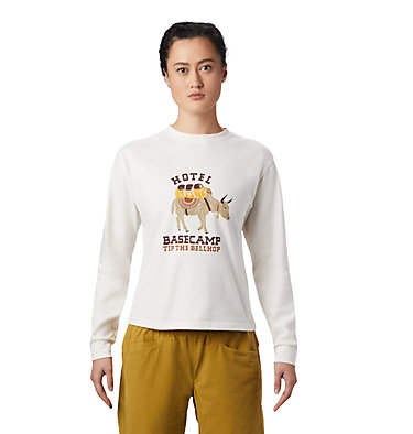 Women's Hotel Basecamp™ Long Sleeve T-Shirt Hotel Basecamp™ Long Sleeve T | 104 | L, Cotton, front