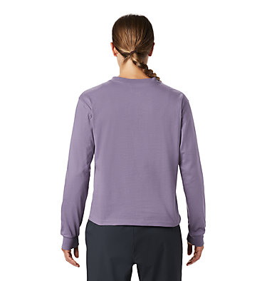 Women's Hotel Basecamp™ Long Sleeve T-Shirt Hotel Basecamp™ Long Sleeve T | 104 | L, Dusted Sky, back