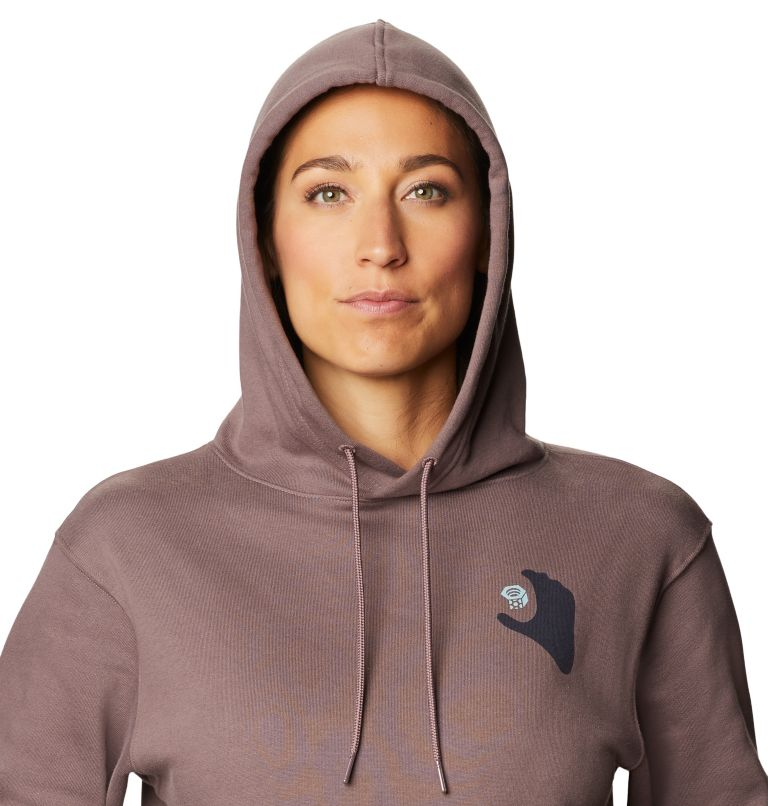 Hand/Hold™ Pullover Hoody | 249 | M Women's Hand/Hold™ Pullover Hoody, Warm Ash, a2
