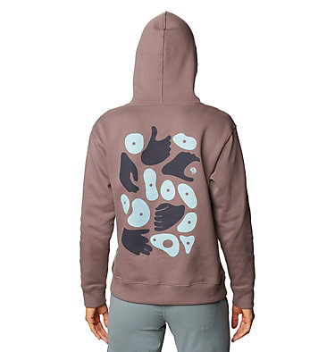 Women's Hand/Hold™ Pullover Hoody Hand/Hold™ Pullover Hoody   249   L, Warm Ash, back