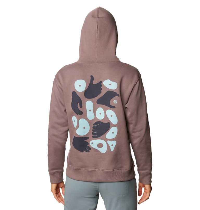 Hand/Hold™ Pullover Hoody | 249 | M Women's Hand/Hold™ Pullover Hoody, Warm Ash, back