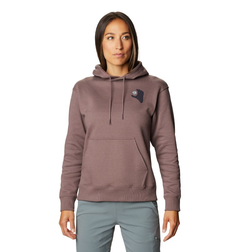 Hand/Hold™ Pullover Hoody | 249 | M Women's Hand/Hold™ Pullover Hoody, Warm Ash, front