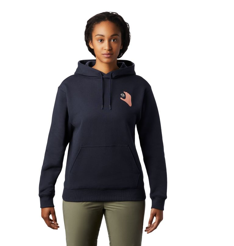 Hand/Hold™ Pullover Hoody | 406 | L Women's Hand/Hold™ Pullover Hoody, Dark Zinc, front