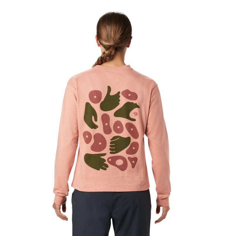 Women's Hand/Hold™ Long Sleeve T-Shirt Women's Hand/Hold™ Long Sleeve T-Shirt, back