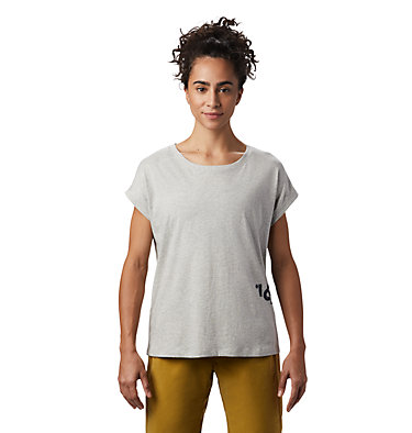 Women's Tomomi 93™ Short Sleeve T-Shirt Tomomi 93™ Short Sleeve T   549   L, Heather Grey, front