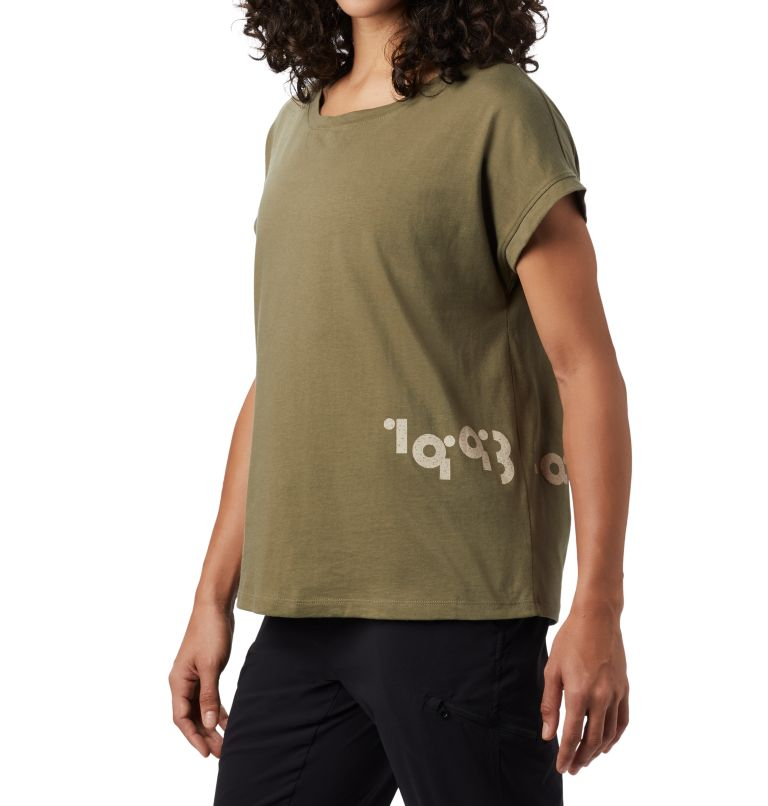 Tomomi 93™ Short Sleeve T | 333 | M Women's Tomomi 93™ Short Sleeve T-Shirt, Light Army, a1