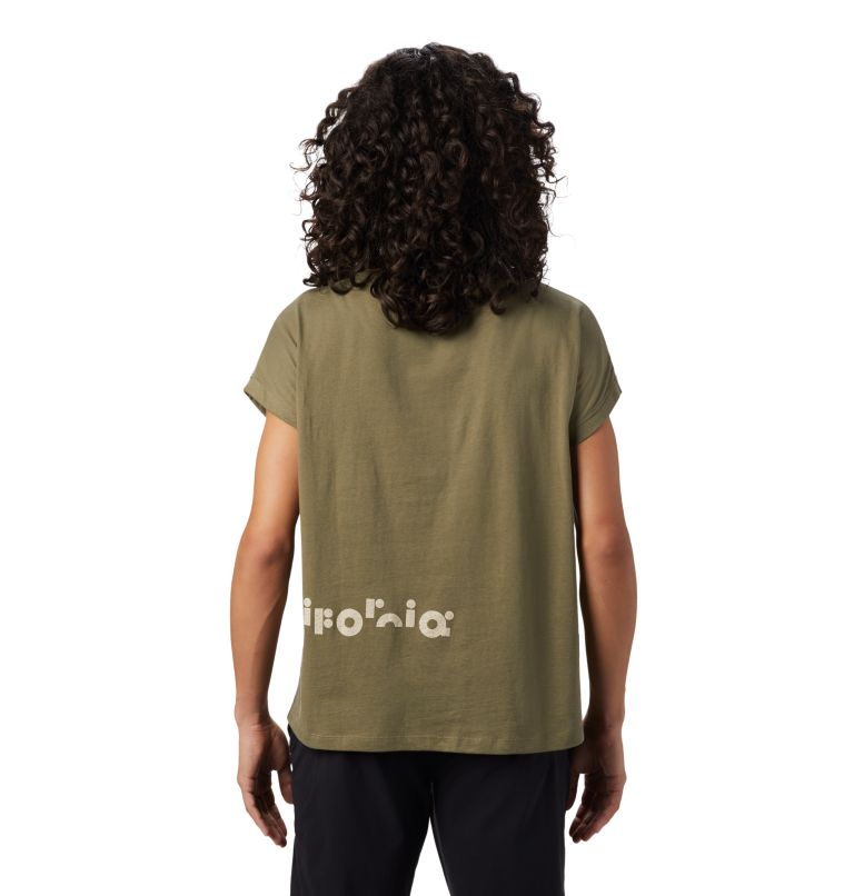 Tomomi 93™ Short Sleeve T | 333 | M Women's Tomomi 93™ Short Sleeve T-Shirt, Light Army, back