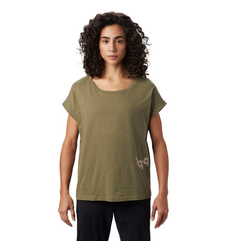 Tomomi 93™ Short Sleeve T | 333 | M Women's Tomomi 93™ Short Sleeve T-Shirt, Light Army, front