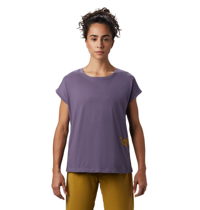 Tomomi 93™ Short Sleeve T | 549 | XS Women's Tomomi 93™ Short Sleeve T-Shirt, Dusted Sky, front
