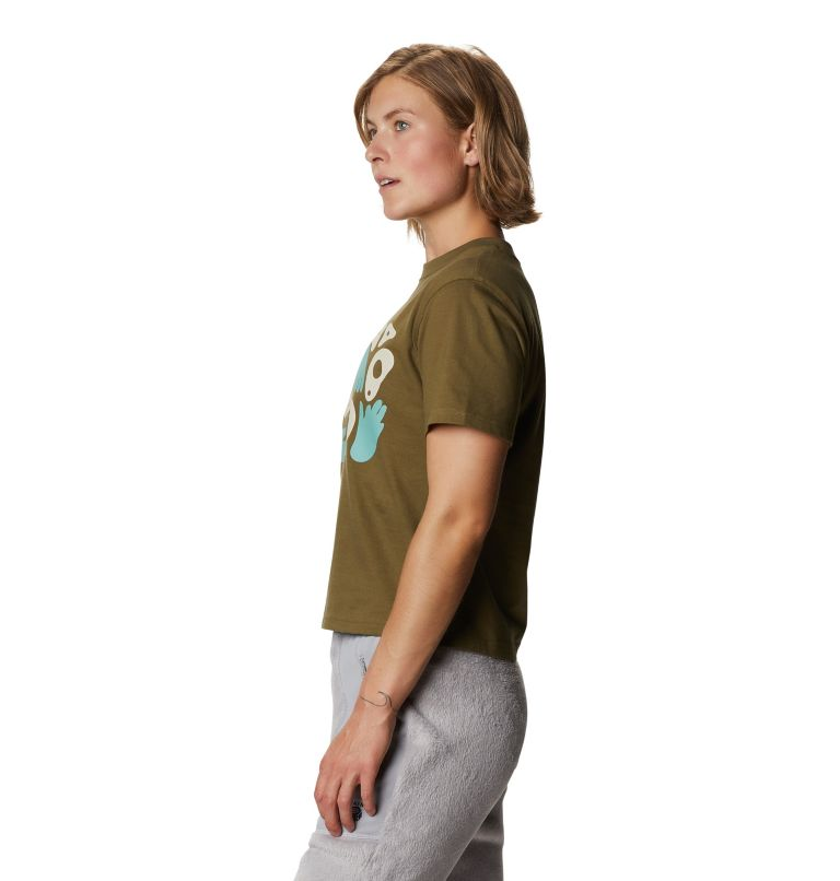 Hand/Hold™ Short Sleeve T | 253 | M Women's Hand/Hold™ Short Sleeve T-Shirt, Raw Clay, a1