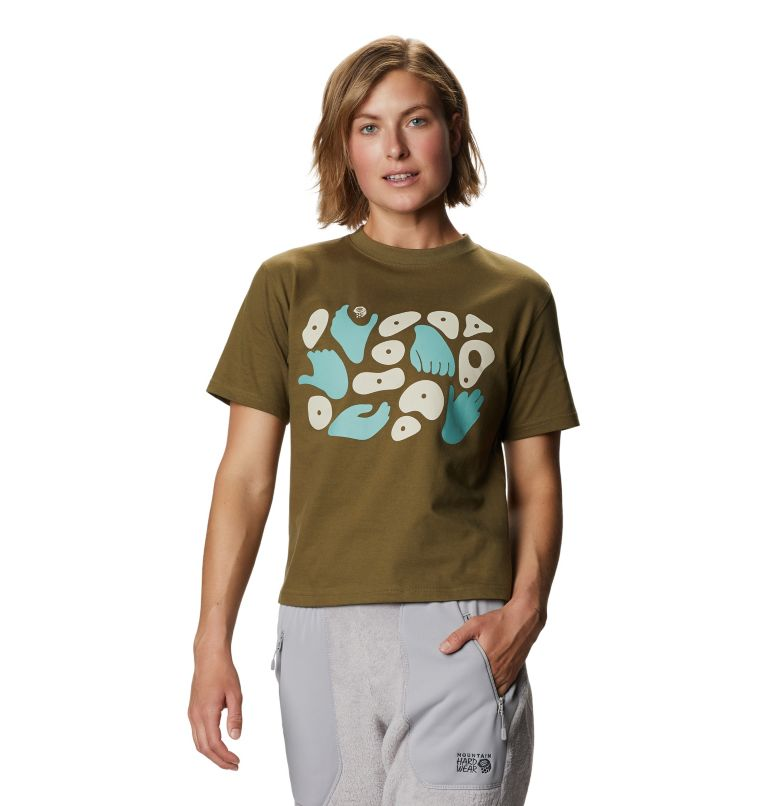 Hand/Hold™ Short Sleeve T | 253 | M Women's Hand/Hold™ Short Sleeve T-Shirt, Raw Clay, front