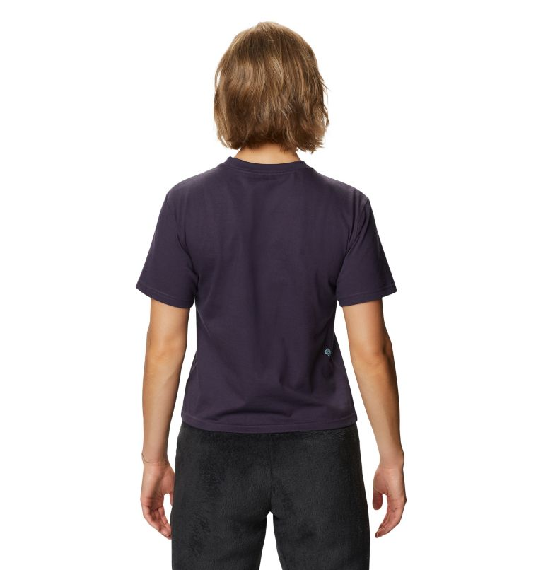 Hand/Hold™ Short Sleeve T | 599 | M Women's Hand/Hold™ Short Sleeve T-Shirt, Blurple, back