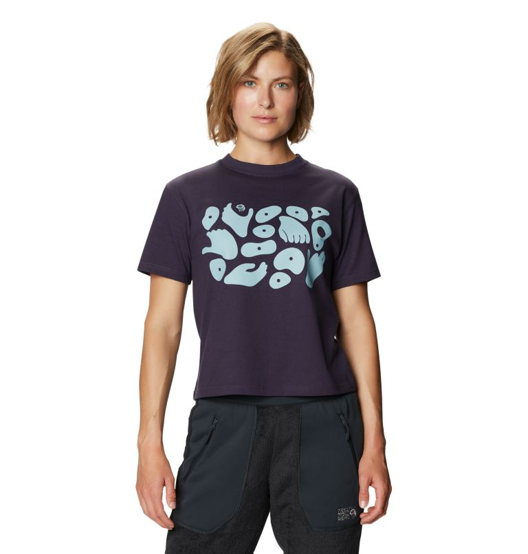 Hand/Hold™ Short Sleeve T | 599 | M Women's Hand/Hold™ Short Sleeve T-Shirt, Blurple, front