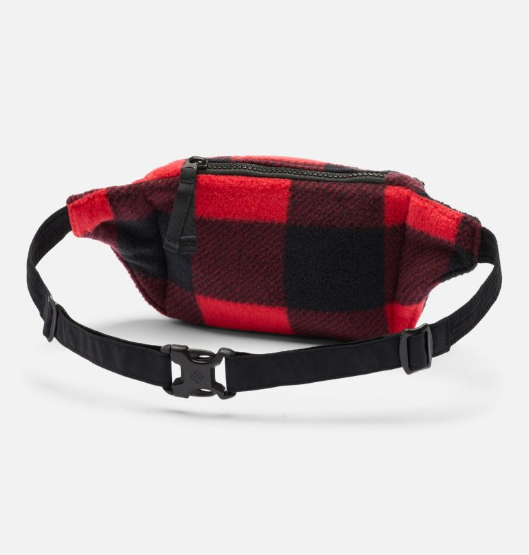 Columbia™ Popo Pack | 613 | O/S Columbia™ Popo Pack, Mountain Red Check Print, Black, back