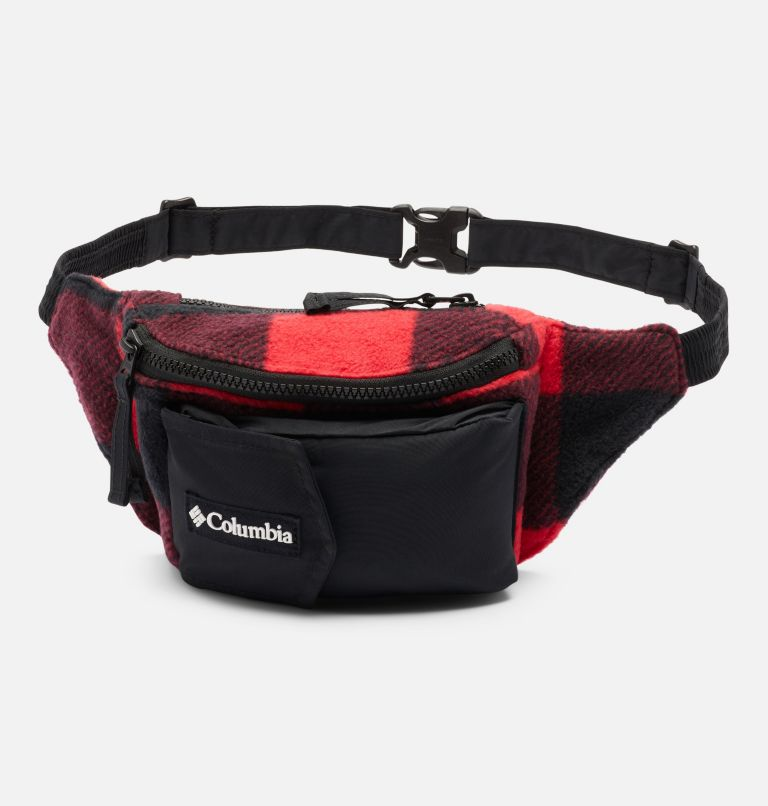Columbia™ Popo Pack | 613 | O/S Columbia™ Popo Pack, Mountain Red Check Print, Black, front