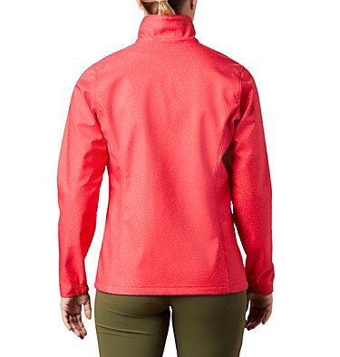 Women's Airtrain Junction™ Softshell Airtrain Junction™EXS Softshell | 653 | M, Red Camellia, back