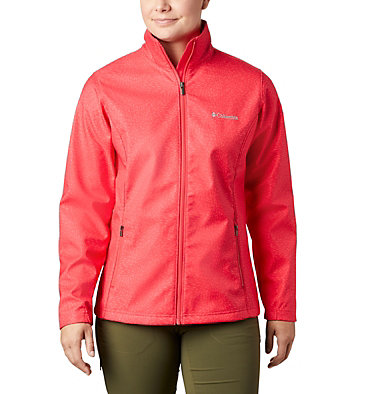 Women's Airtrain Junction™ Softshell Airtrain Junction™EXS Softshell | 653 | M, Red Camellia, front