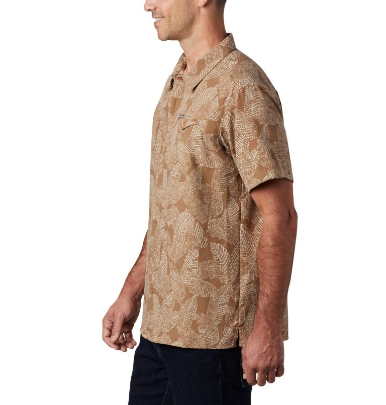Lakeside Trail™ SS Shirt | 257 | 3X Men's Lakeside Trail™ Short Sleeve Shirt - Big, Delta Rad Palms Print, a1