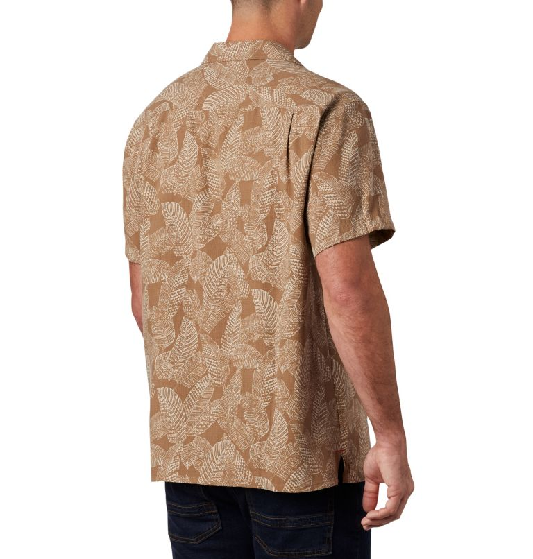 Lakeside Trail™ SS Shirt | 257 | 3X Men's Lakeside Trail™ Short Sleeve Shirt - Big, Delta Rad Palms Print, back