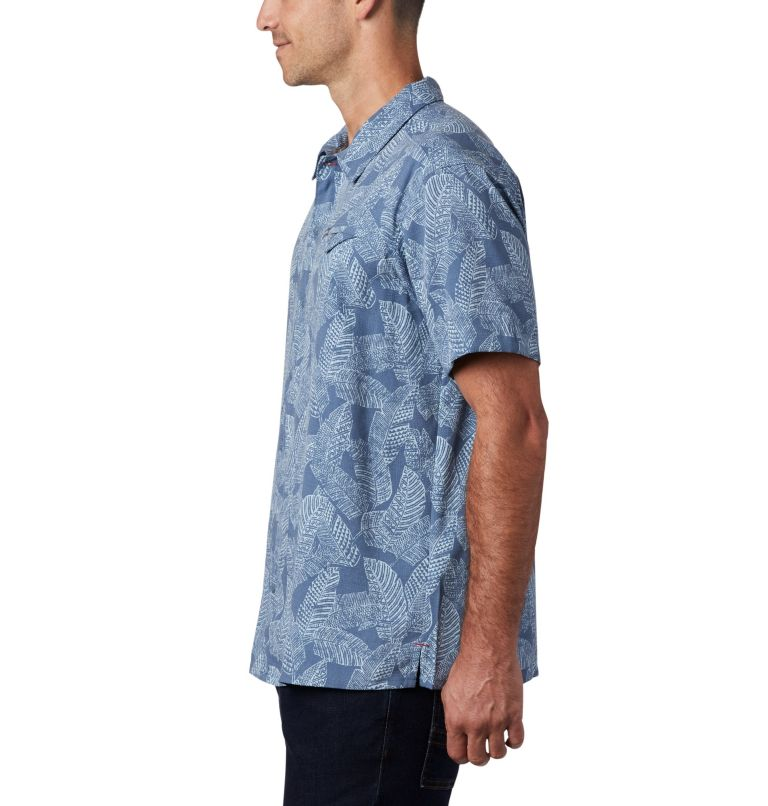 Lakeside Trail™ SS Shirt | 441 | 3X Men's Lakeside Trail™ Short Sleeve Shirt - Big, Mountain Rad Palms Print, a1