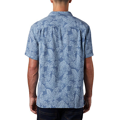 Men's Lakeside Trail™ Short Sleeve Shirt - Big Lakeside Trail™ SS Shirt | 369 | 1X, Mountain Rad Palms Print, back