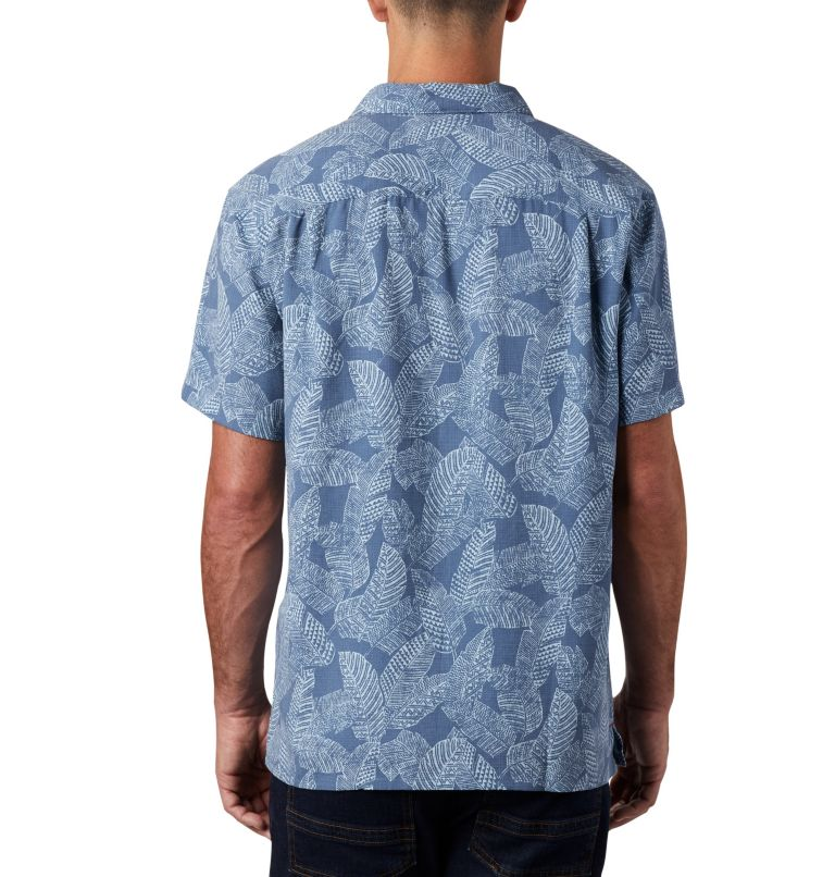 Lakeside Trail™ SS Shirt | 441 | 3X Men's Lakeside Trail™ Short Sleeve Shirt - Big, Mountain Rad Palms Print, back
