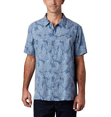 Men's Lakeside Trail™ Short Sleeve Shirt - Big Lakeside Trail™ SS Shirt | 369 | 1X, Mountain Rad Palms Print, front
