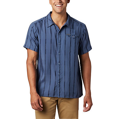 Chemise à manches courtes Lakeside Trail™ pour homme – Tailles fortes Lakeside Trail™ SS Shirt | 478 | 1X, Dark Mountain, front