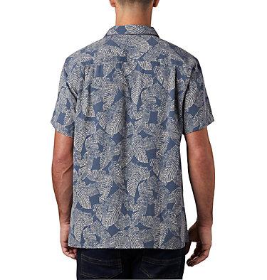 Men's Lakeside Trail™ Short Sleeve Shirt - Big Lakeside Trail™ SS Shirt | 369 | 1X, Dark Mountain Rad Palms Print, back