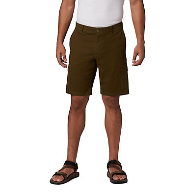 Men's Ultimate Roc™ Flex Cargo Shorts Ultimate Roc™ Flex Cargo Short | 469 | 28, New Olive, front