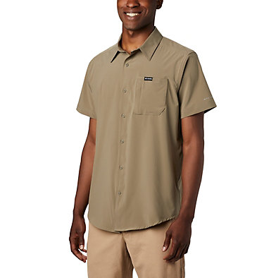 Men's Triple Canyon™ Short Sleeve Shirt Solid Triple Canyon™ SS Shirt Solid | 464 | M, Sage, front