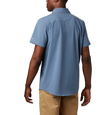 Men's Triple Canyon™ Short Sleeve Shirt Solid Triple Canyon™ SS Shirt Solid | 464 | M, Mountain, Shark, back