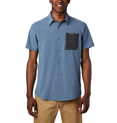 Men's Triple Canyon™ Short Sleeve Shirt Solid Triple Canyon™ SS Shirt Solid | 464 | M, Mountain, Shark, front
